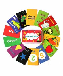 Shumee Baby's First Flash Cards  Multicolor - 35  Flash Cards