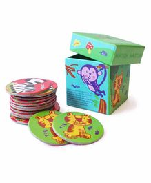 Shumee Forest Animal Memory Game Multicolor - 18 Cards
