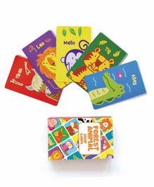 Shumee Forest Animal Snap Cards Game Multicolor Set of 1 - 52 Pieces