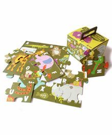 Shumee Animal & Alphabet Jigsaw Puzzle Set of 1 - 24 Pieces