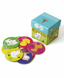 Shumee Farmyard Memory Card Game Multicolor Set of 1- 18 Pieces