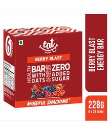 EAT Anytime Energy Bar Berry Blast Flavour Pack of 6 - 228 gm