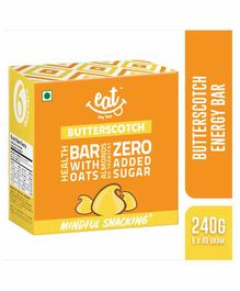 Eat Anytime Butterscotch Energy & Nutrition Bars Pack of 6 - 40 grams each