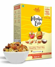 Eat Anytime Healthy Trail Mix with Papaya & Pineapple Pack of 2 - 100 grams each