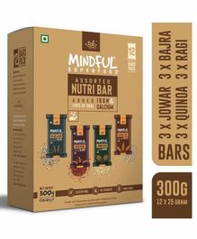 Eat Anytime Mixed Millet Granola Energy Bars Pack of 12 - 300 g