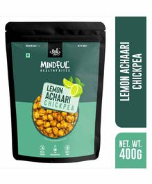 Eat Anytime Roasted Chick Pea Snack Lemon Achari Flavour - 400 g