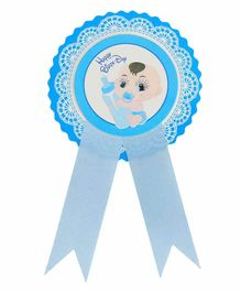 Skylofts Happy Birthday Badge - Blue