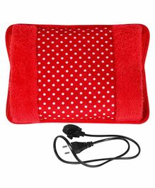 MCP Velvet Rechargeable Hot Water Bag - Red