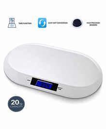MCP Baby  Electronic Digital Weighing Scale - White