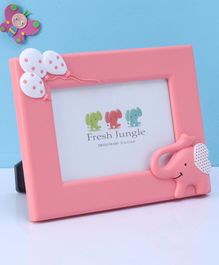 Balloon Embossed Photo Frame - Pink