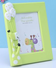 Balloon Embossed Photo Frame - Green