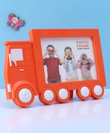Vehicle Shaped Photo Frame - Orange