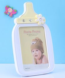 Bottle Shaped Photo Frame - Yellow