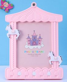 Castle Shape Photo Frame - Pink