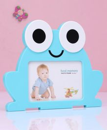 Frog Shap Photo Frame - Blue