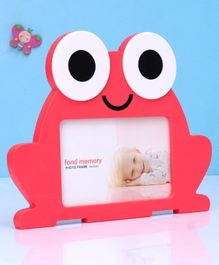 Frog Shap Photo Frame - Red