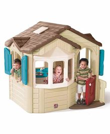 Step2 Playhouse with Electronic Doorbell - Multicolor