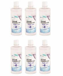 Yellowbee Rads Care Alcohol Based Instant Hand Sanitizer Pack of 6 - 500 ml Each