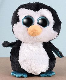 Ty Toy Penguin Soft Toy Black White - Height 15 cm