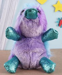 Ty Toy Platypus Soft Toy Purple - Height 7.5 cm