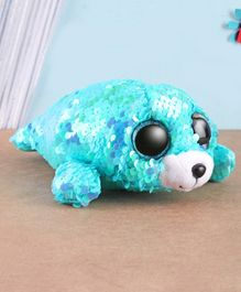 Ty Toy Waves Flippable Soft Toy Blue - Height 7 cm