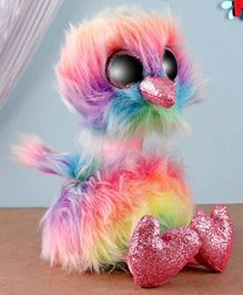 Ty Toy Asha Ostrich Soft Toy Multicolor - Height 21 cm