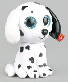Ty Toy Mini Boos Puppy Toy White - Height 6.5 cm