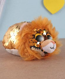Ty Toy Rgeal Flippable Lion Soft Toy Brown - Height 5 cm