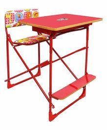 Sohum Plywood Study Table - Red