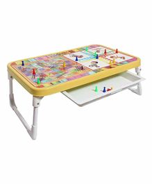 Sohum Multi Activity Table with Drawer - Multicolor
