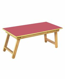 Sohum Bed Table - Red