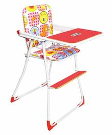 Sohum 3 In 1 Convertible High Chair - Red