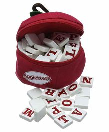 Bananagrams Appletters Spelling and Word Tile Game - Multicolor