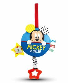 Clementoni Baby Mickey Soft Musical Toy Multicolor - Length 16 cm