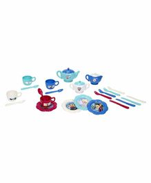 Jakks Pacific Disney Frozen Dinnerware Tea Set Multicolor - 26 Pieces