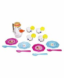 Jakks Pacific Disney Frozen Olaf's Summer Tea Set Multicolor - 17 Pieces
