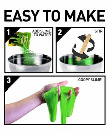 National Geographic Glow in the Dark Slime Making Kit - Green
