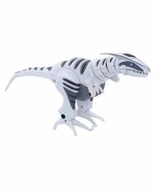 WowWee Mini Roboraptor Dino with Music & Light Figure - Height 12.5 cm