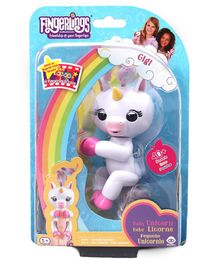 WowWee Fingerlings Unicorn Interactive Toy - White