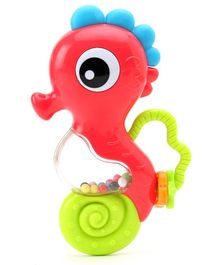 K'S Kids Musical Shaking Seahorse with Music & Light - Multicolor
