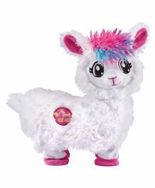 Pets Alive Llama Battery Operated Soft Toy - White