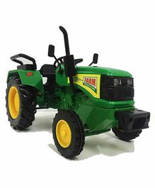 VWorld Pull Back Farm Tractor Toy - Green