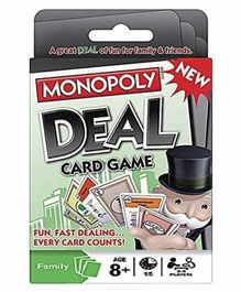 VWorld Deal Cards Game   - Multicolor