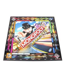Monopoly Speed Board Game - Multicolour