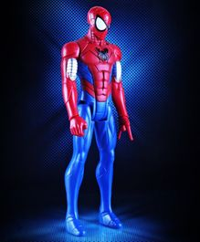 Marvel Spider Man Web Warriors Armoured Action Figure - Height 29 cm