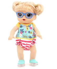 Baby Alive Step & Giggle Doll With Accessories - Height 32.5 cm