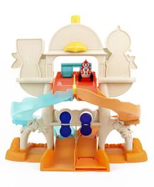 Top Wing Track Playset with Rod Racer Figure - Multicolor