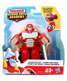 Playskool Transformers Rescue Bots Academy Action Figure Toy Red - Height 15 cm