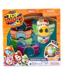 Top Wing Select Watch with Lights and Badges - Multicolor
