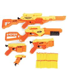 Nerf Alpha Strike Dart Gun - Yellow Orange